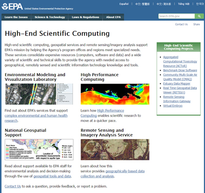 High-End Scientific Computing EPA Public